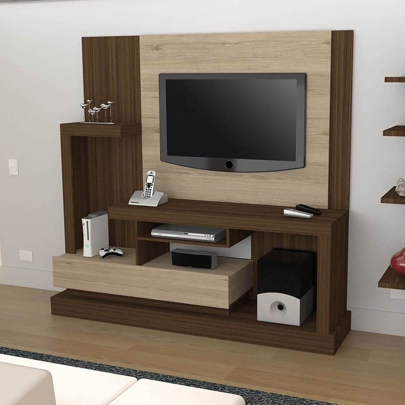 Familia centro de entretenimiento alcaceres for Modulares modernos para sala
