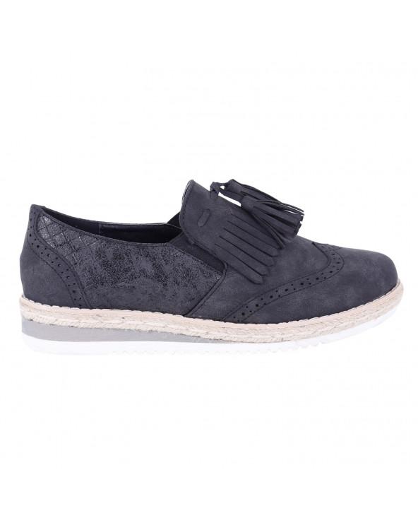 Priority Zapato Dama F660-3 Black