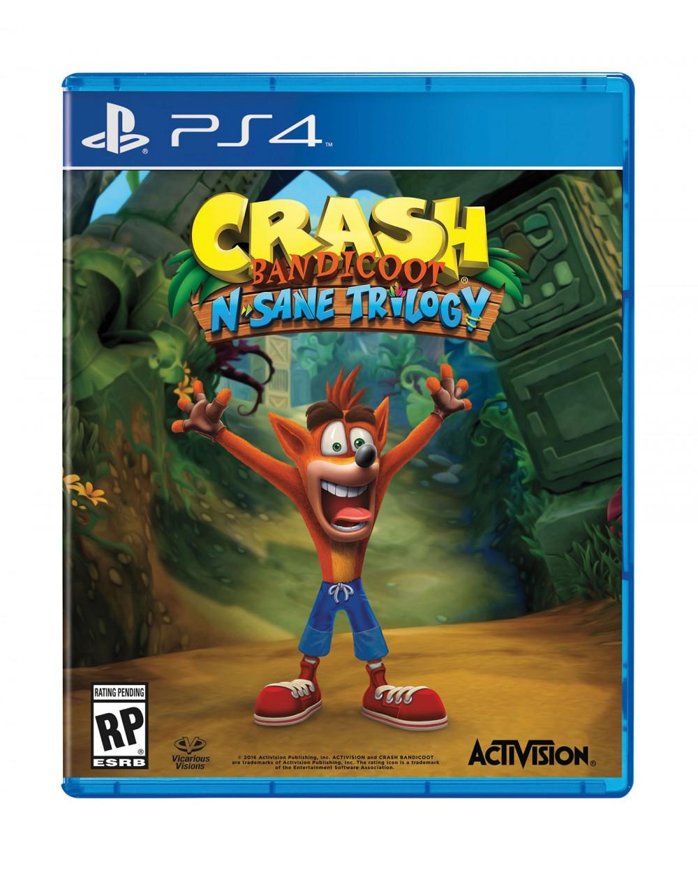 Activision PS4 Crash Bandicoot
