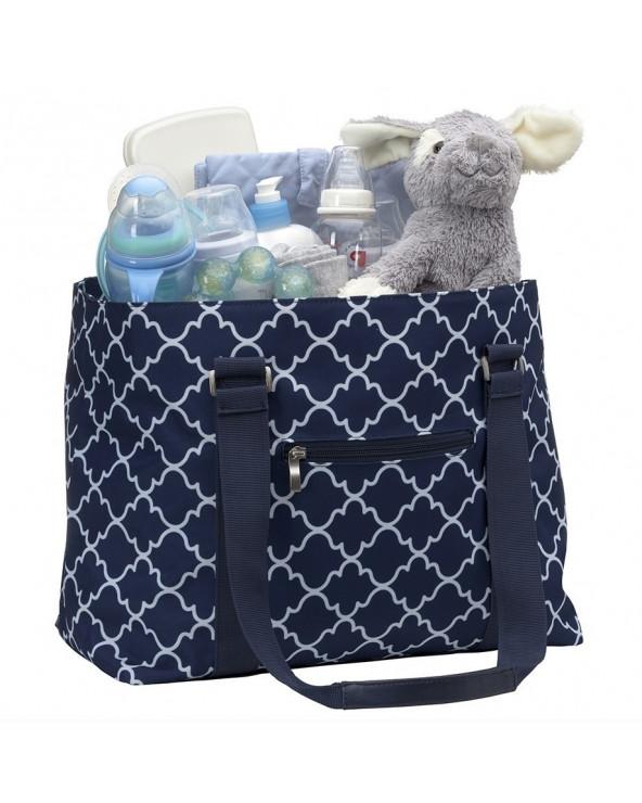 Infanti bolso pañalero Lattice Blue RR15-9144