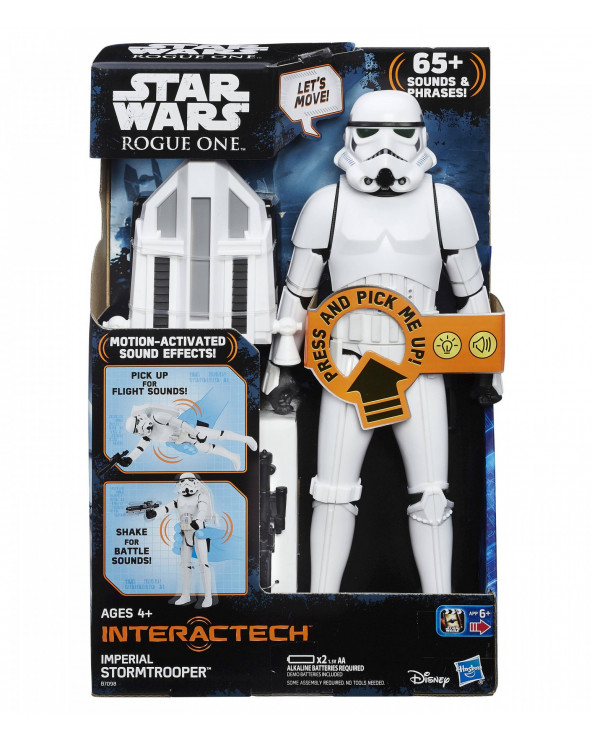 Star Wars Figura De Soldado De Asalto Imperial B7098