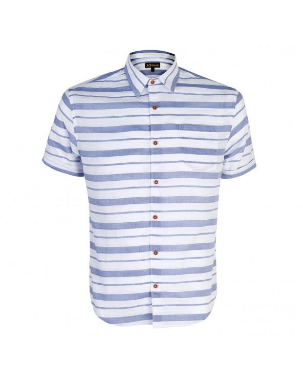 XTRMZ Camisa MC Totee Azul Acero