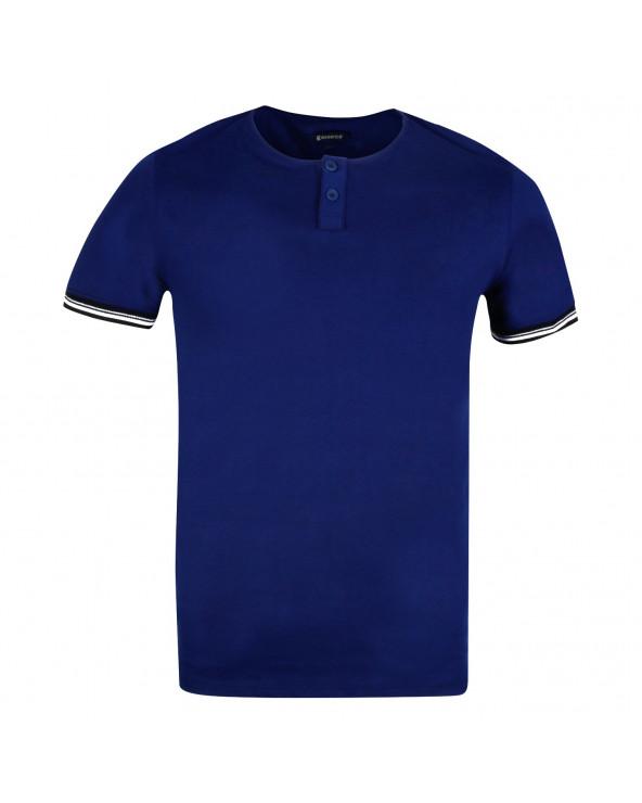 Essence Polo Strip Azul Marino