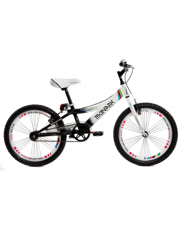 Monark Bicicleta Fireball XT Negro-Blanco Aro 20 S/L