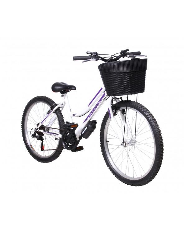 Monark Bicicleta Demon Chic Blanco Aro 24 S/L