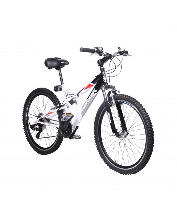 Monark Bicicleta Dakar Lady Negro-Blanco Aro 26 S/L