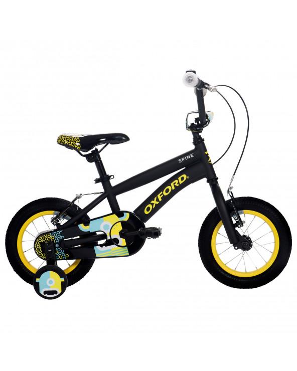 Bicicleta Oxford Niño Spine 204BF1219CB080 Negro/Amarillo