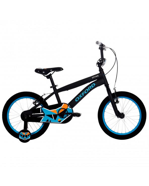 Bicicleta Oxford Niño Spine 204BF1619CB090 Negro/Azul
