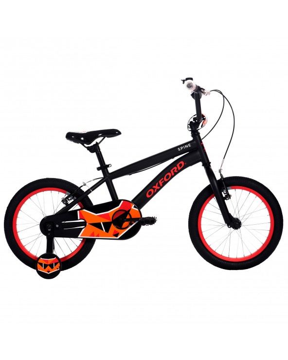 Bicicleta Oxford Niño Spine 204BF1619CC090 Negro/Naranja
