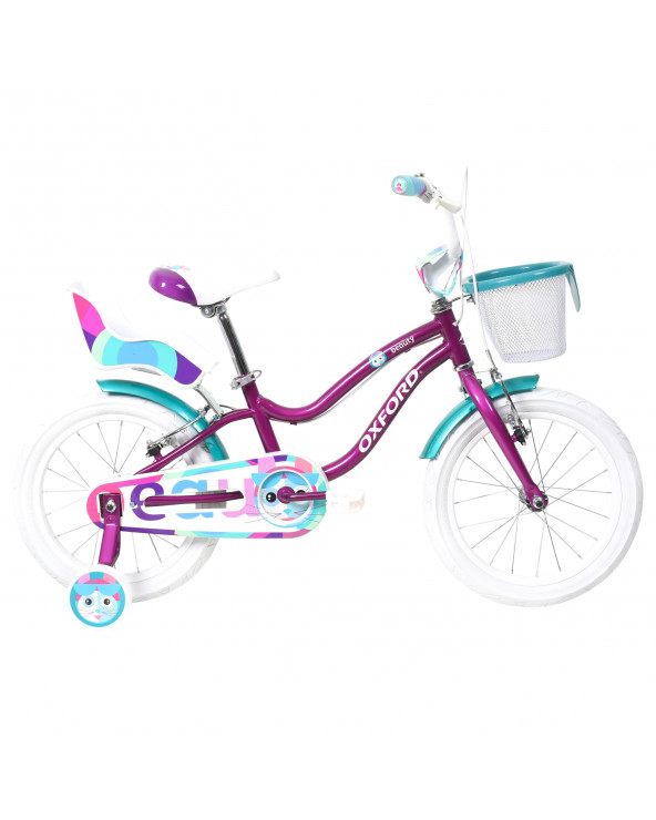Bicicleta Oxford Niña Beauty 204BN1610PA090 Morado