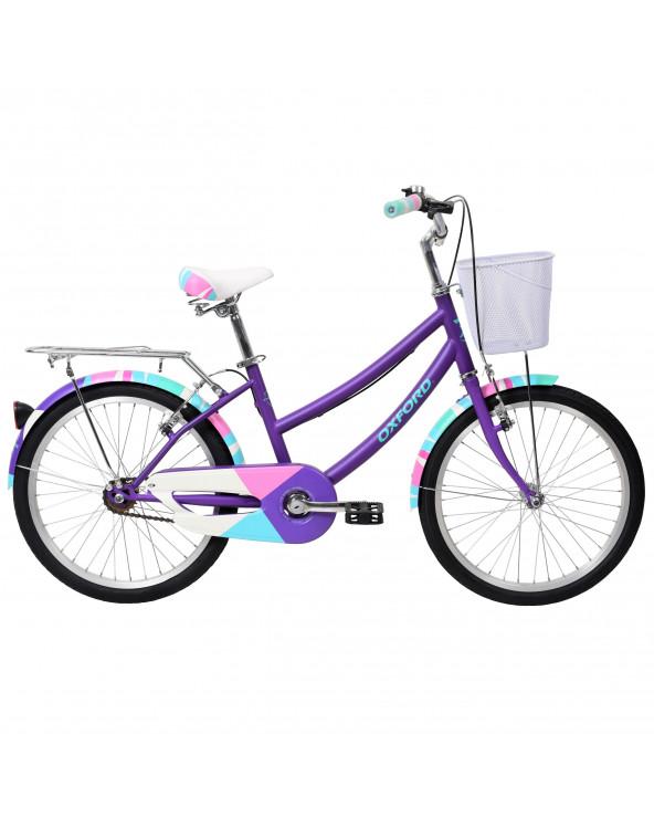 Bicicleta Oxford Niña Cyclotour 204BP2046PA120 Morado