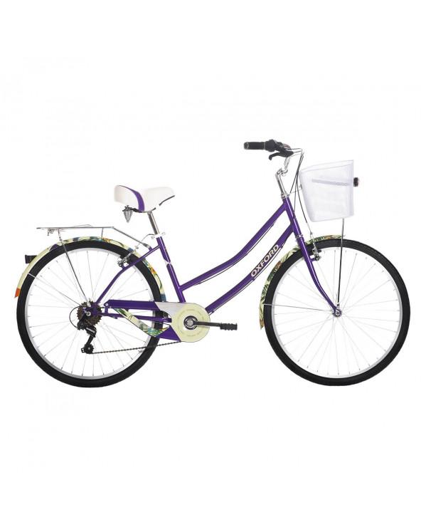 Bicicleta Oxford Mujer Paseo Cyclotour 204BP2648MA150 Lila/Morado