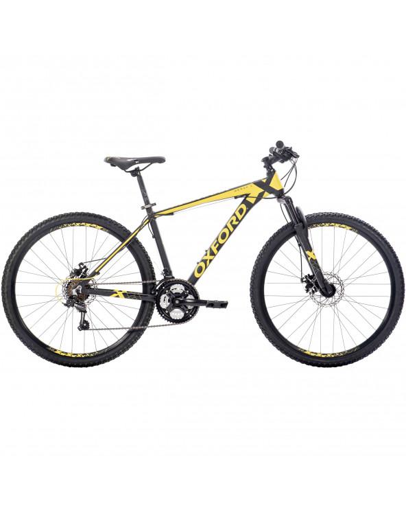 Bicicleta Oxford Hombre Montaña Merak 1 204BA2751CB160 Negro/Amarillo