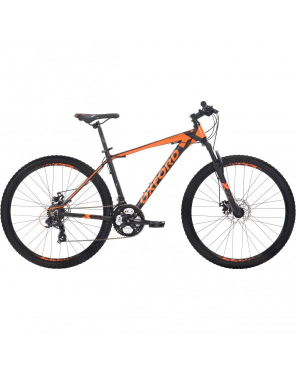 Bicicleta Oxford Hombre Montañera Merak 2 204BA2753CA175 Negro/Naranja