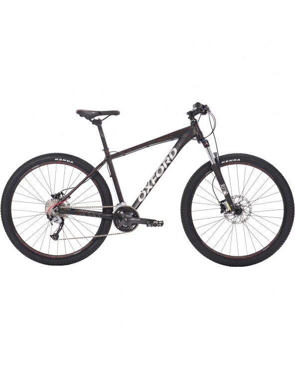 Bicicleta Oxford Hombre Montañera Polux 2 204BA2793CA175 Negro/Rojo
