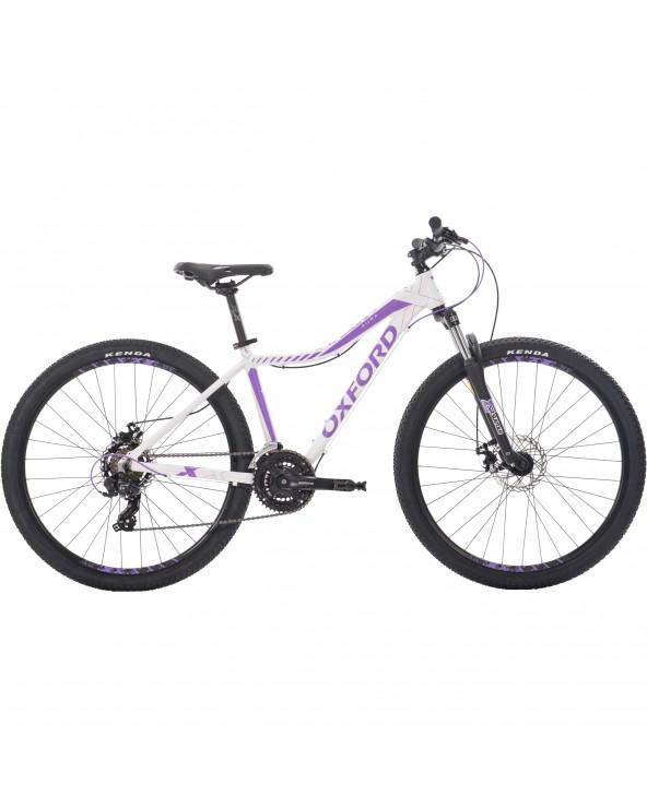 Bicicleta Oxford Mujer Montañera Aura 204BA2772AA155 Blanco/Morado