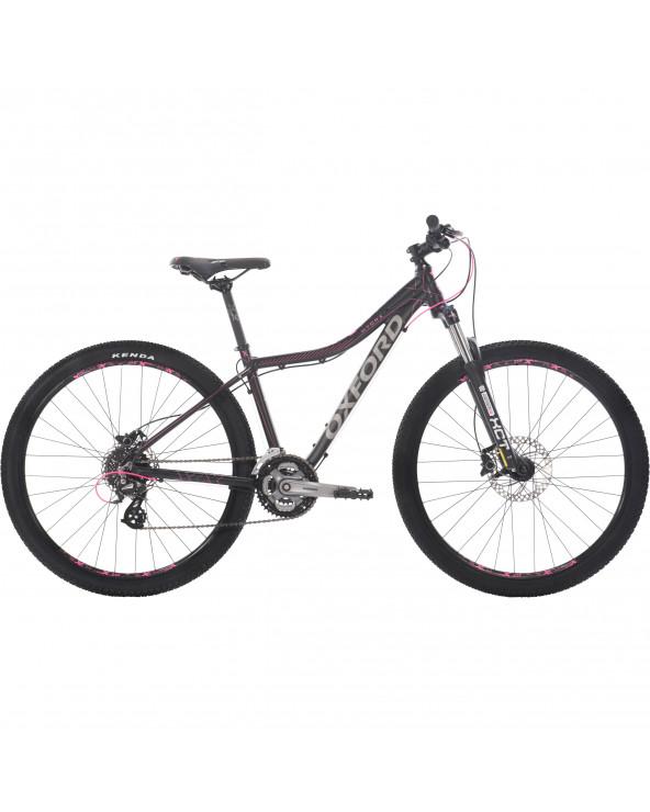 Bicicleta Oxford Mujer Montañera Hydra 204BA2792CA155 Negro/Fucsia