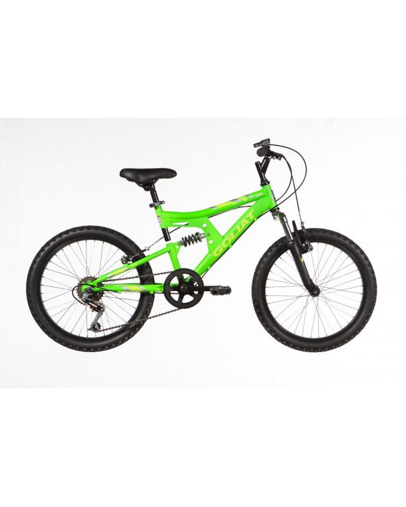 Bicicleta Goliat Infantil Niño Sierra 208BD2079JA Verde
