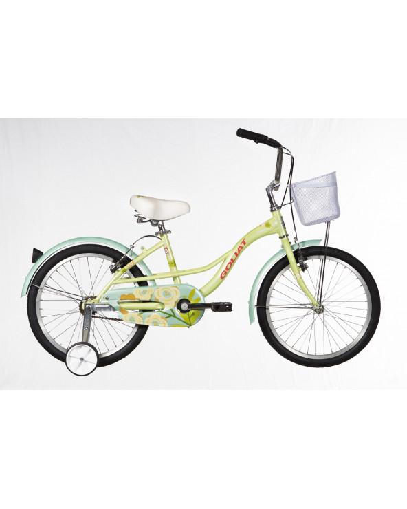 Bicicleta Goliat Infantil Niña Cabo Blanco 208BP2078JA Verde
