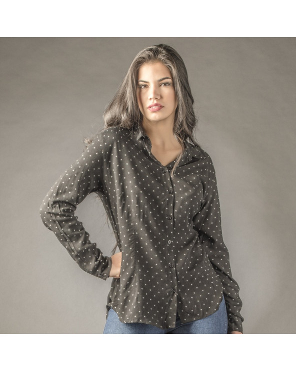 Essence Blusa Fiamma Camisera ML