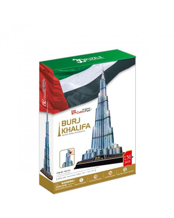 Shantou Cubic Rompecabezas Burj Khalifa MC133H
