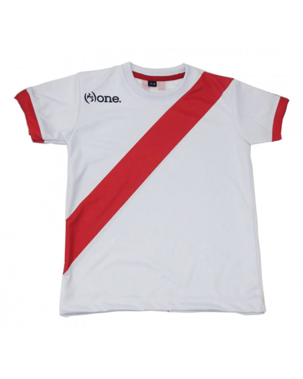 One Camiseta Perú Blanco Infantil