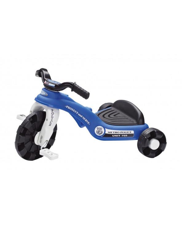 American Plastic Toys Triciclo Policía 30040
