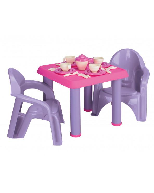 American Plastic Toys Set De Mesa Fiesta De Té 13620