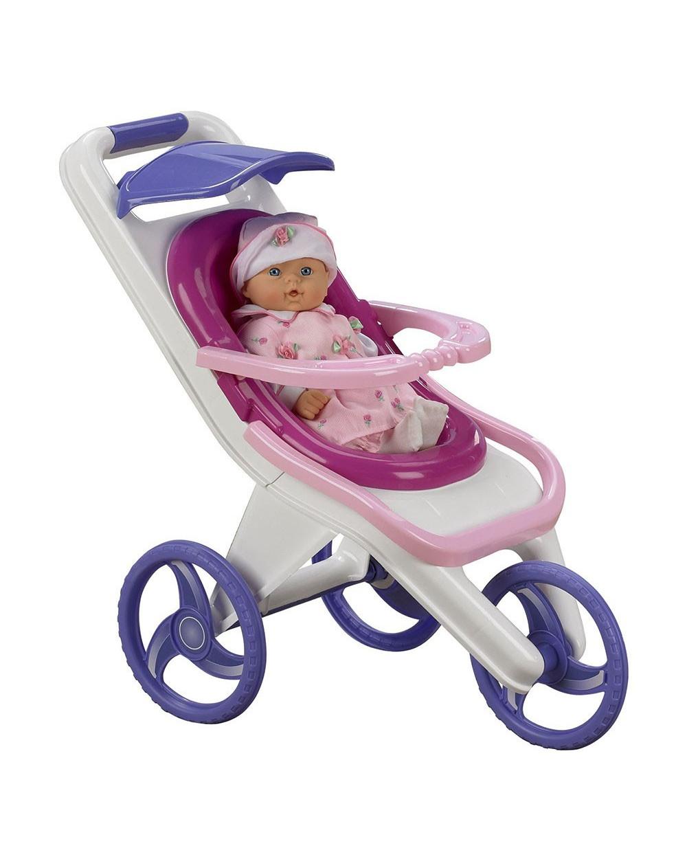 American Plastic Toys Cochecito Francés 3 EN 1 20440
