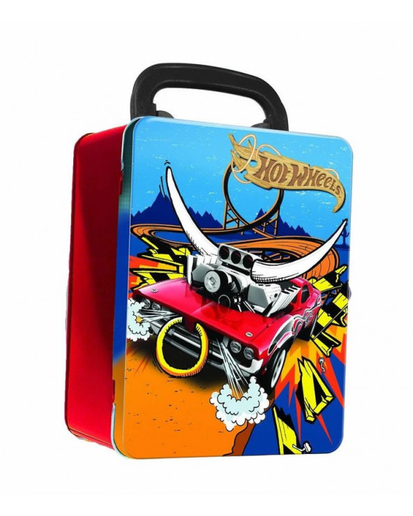 Hot Wheels Estuche Metalico...