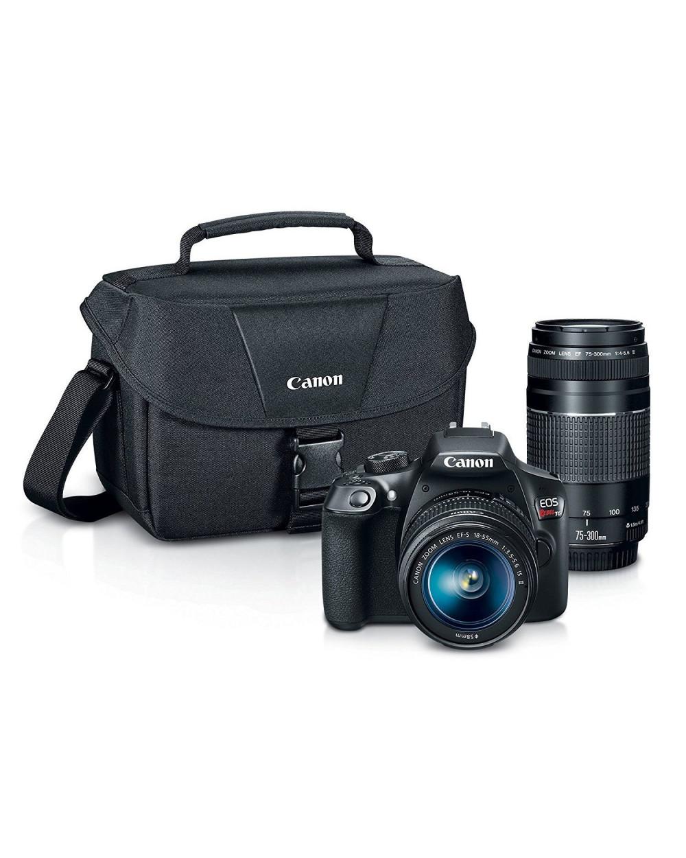 Canon Camara EOS T6 EF Combo