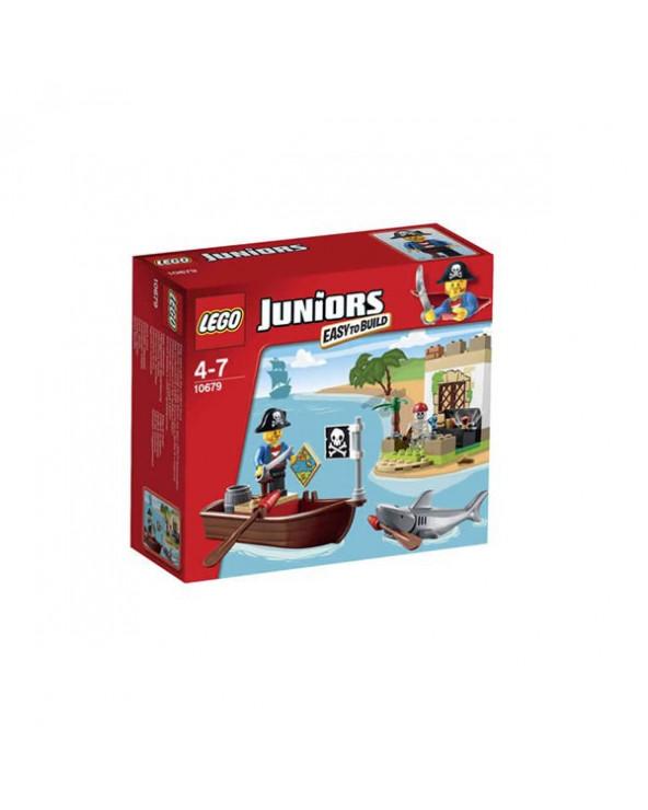 Lego Juniors el tesoro del pirata
