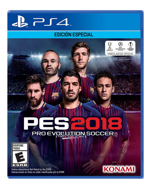 Konami Juego PS4 Pro Evolution Soccer 2018