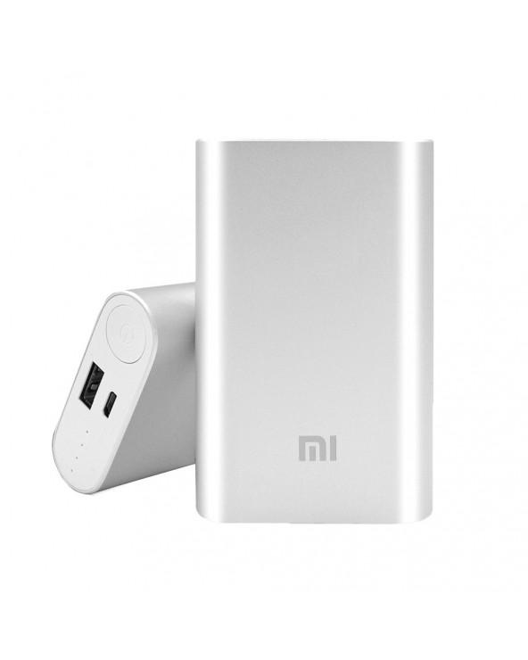Xiaomi cargador powerbank 10000 mAh Silver