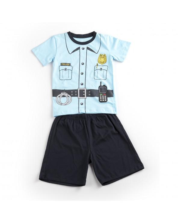 F. Twist Pijama Niño 2 Pzas Mod Uniforme