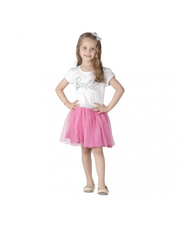 Barbie Vestido Niña Estampado BAV18BA0638E