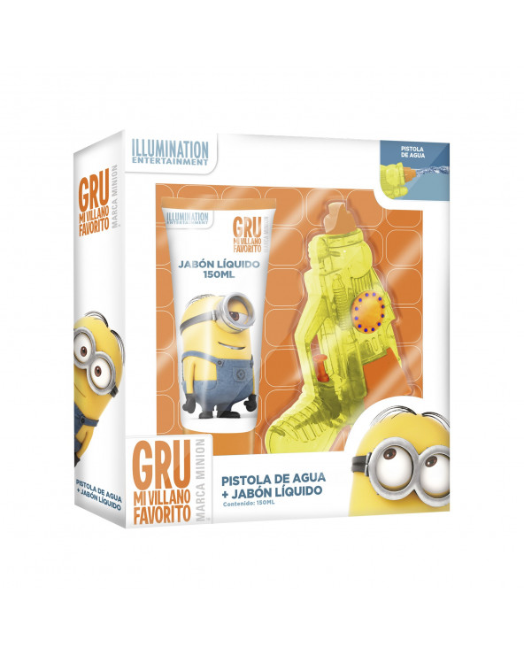Minions Set Jabón Líquido x 300ml + Pistola Small