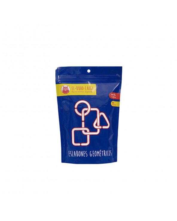 INRO Plásticos Eslabones Geométricos 2 (60 piezas) EBL 170009