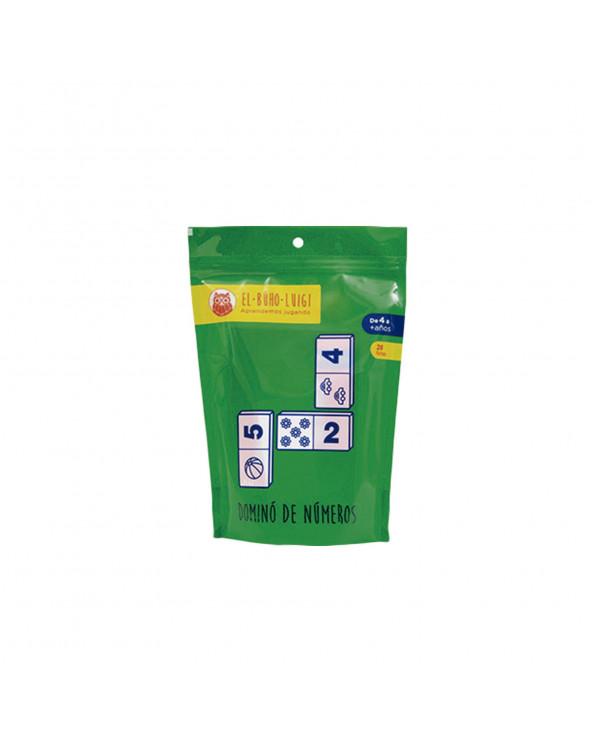 INRO Plásticos Domino Numéricos (28 piezas) EBL 170011