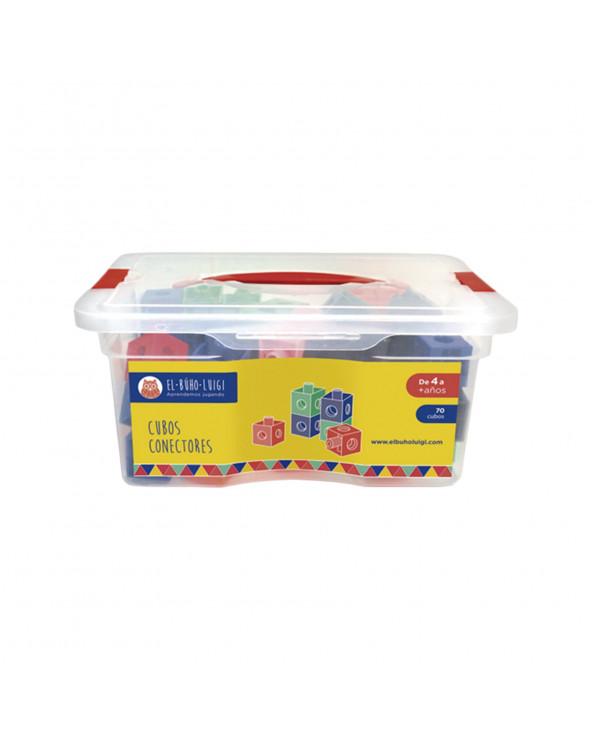 INRO Plásticos Cubos Conectores (70 piezas) EBL 170018