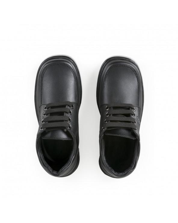 F. Twist Zapato Escolar Cordón Negro