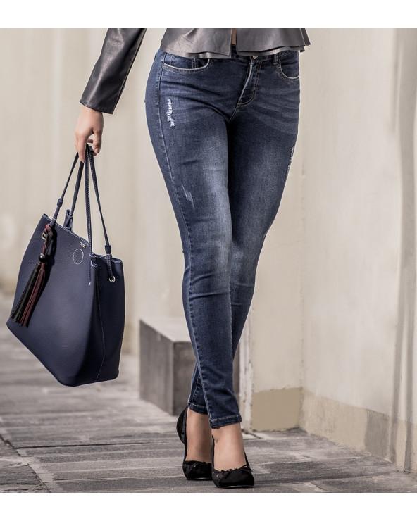 Essence Jeans Dama Ysela