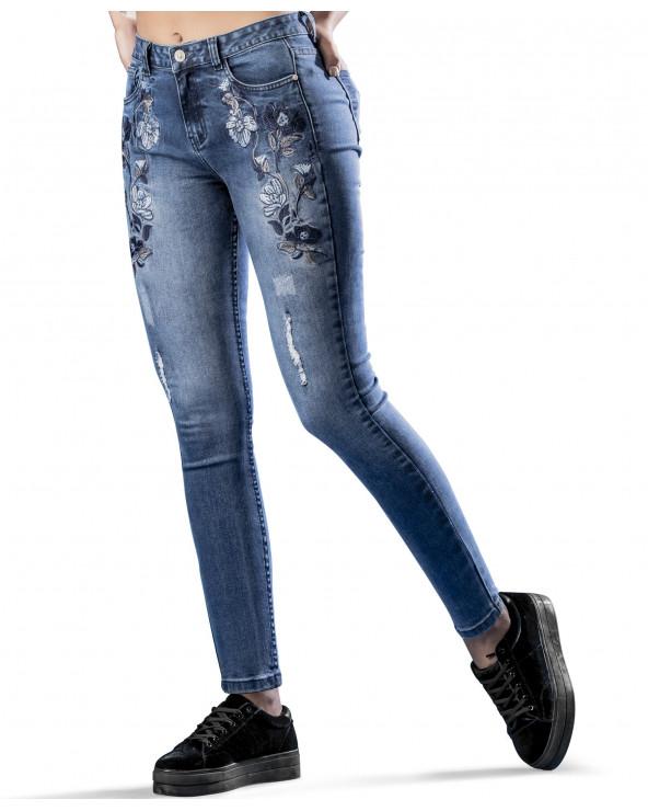 Essence Jeans Dama Rouse Azul