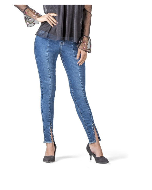 Essence Jeans Dama Taches