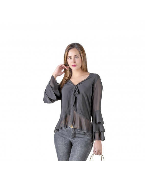 One Step Blusa Mangabo