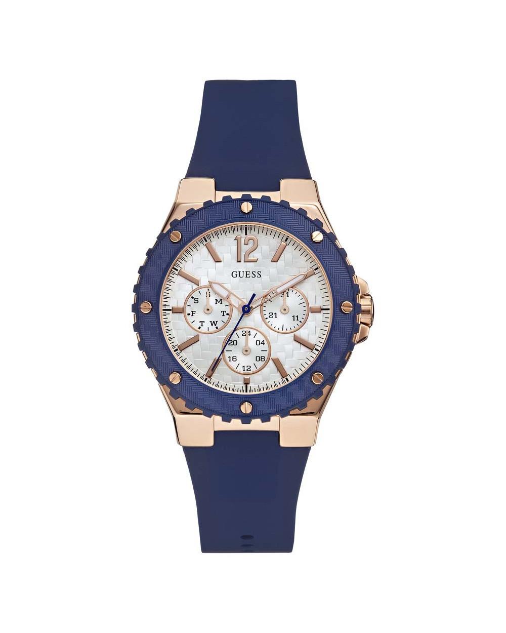 a744017cac5f Guess Reloj de Dama W0149L5 Rose Gold Azul Características