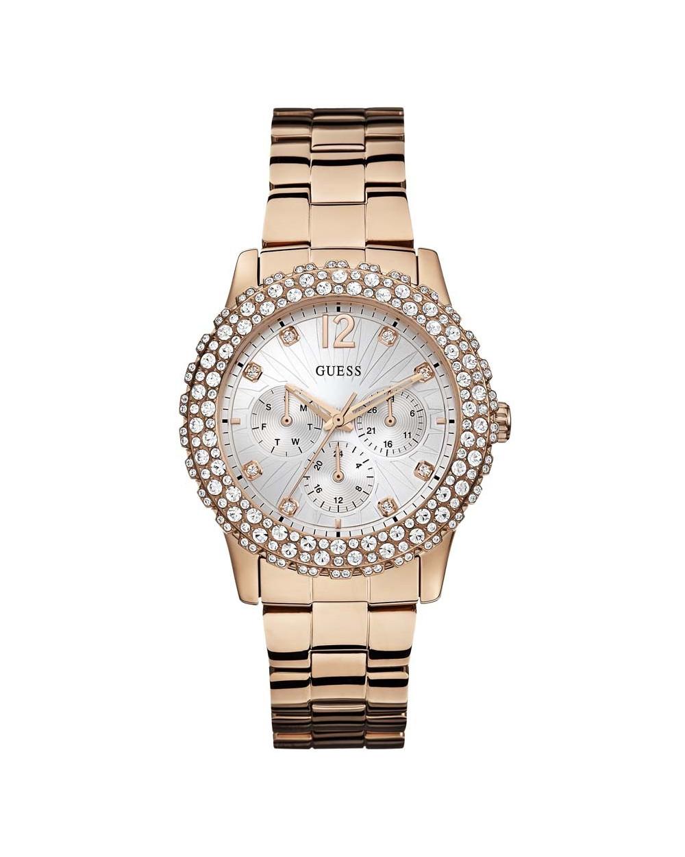 ae4f25f0a1ec Guess Reloj de Dama W0335L3 Rose Gold Blanco Características