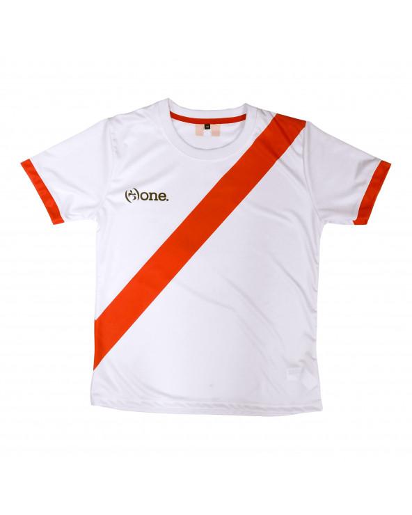 One Camiseta Perú Blanco Mujer