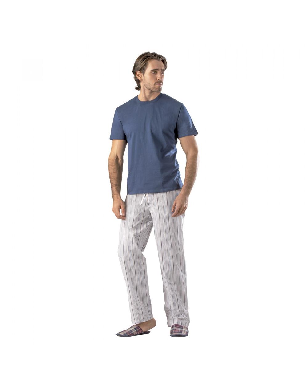 Essence Pack De Pijama Hombre Navigat Polo Mc Pantalon