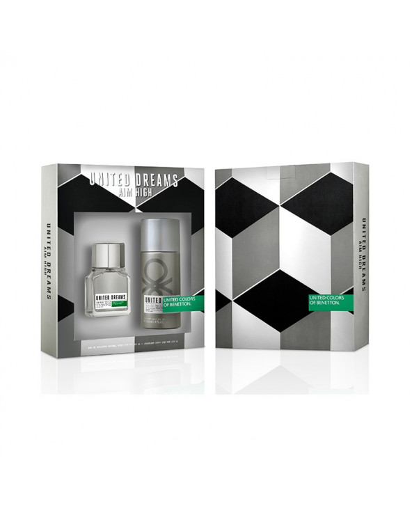 Benetton UD Aim High EDT 60ml + Aftershave 50ml Hombre